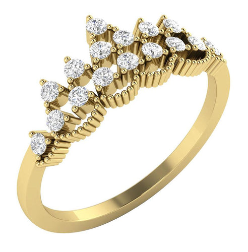14KWeddingYellowGoldDiamondRing-WR-543