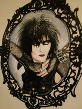 Siouxsie Sioux of Siouxsie and the Banshees Painting, SOLD
