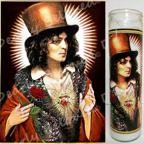 St. Marc Bolan of T. Rex Prayer Candle, 8