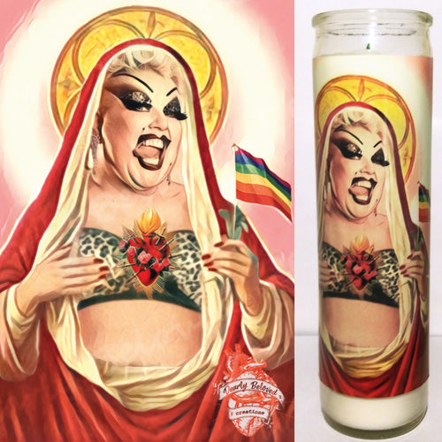 St Divine Celebrity Prayer Candle, 8