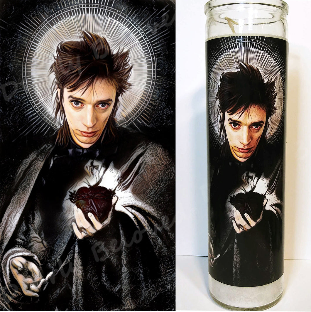 Saint Blixa of the Bad Seeds, Devotional Candle, 8