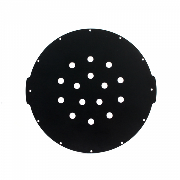 "Aluminium Endcap with 15 Holes(8"" Series)"