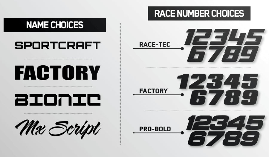 Night Rider Victory Graphics Kit