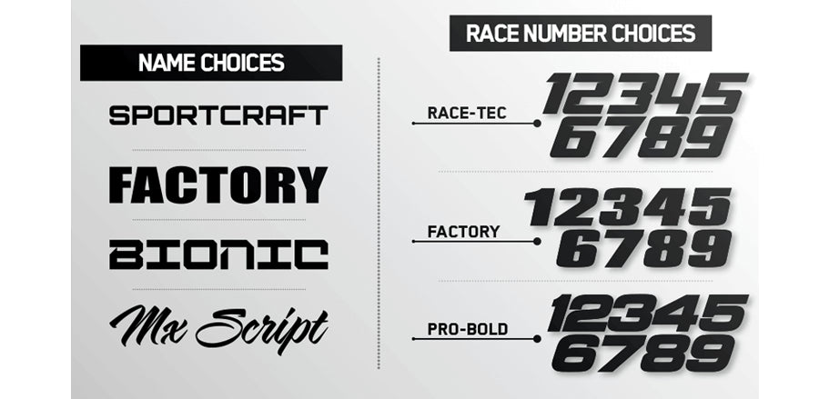 ISLANDSTRIKE: BLACK / WHITE Graphics kit