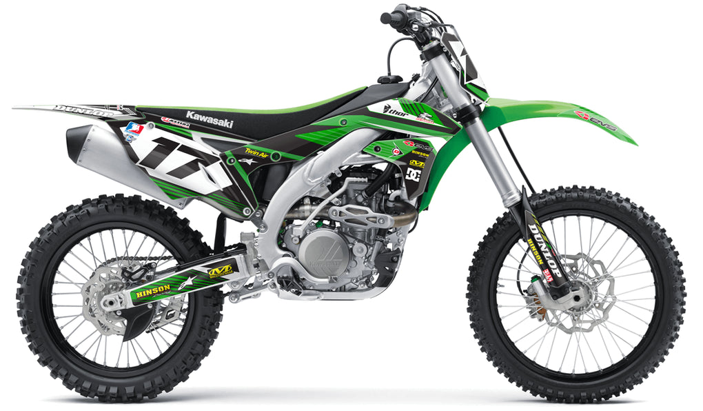 RIDGELINE: GREEN / GREEN Graphics Kit