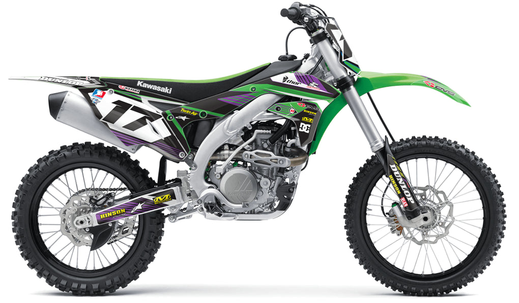 RIDGELINE: GREEN / PURPLE Graphics Kit