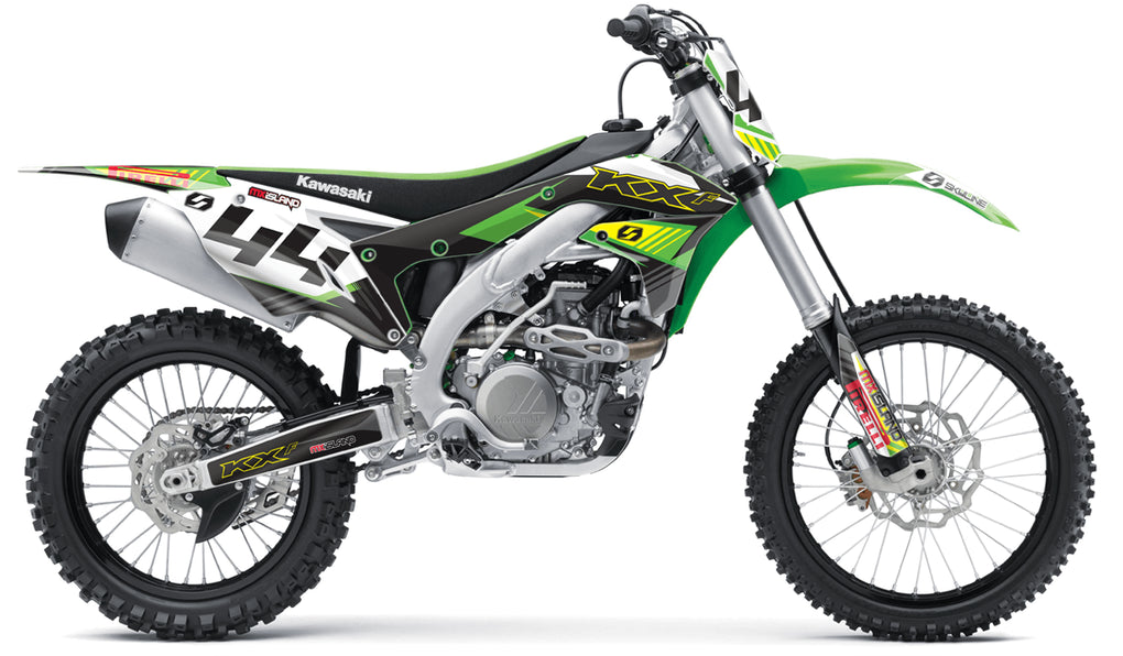 S-ONE: YELLOW / GREEN Graphics Kit