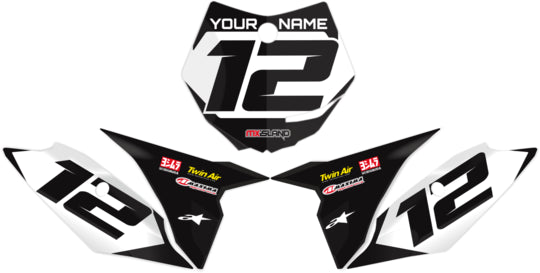 STOCK : BLACK Graphics kit