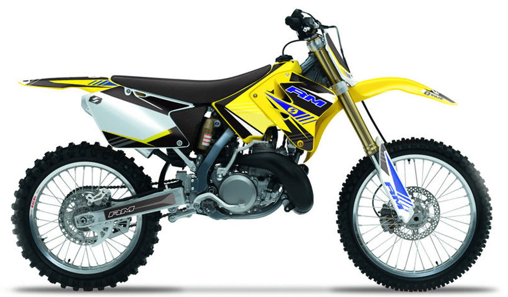 S-ONE: YELLOW / BLUE Graphics kit