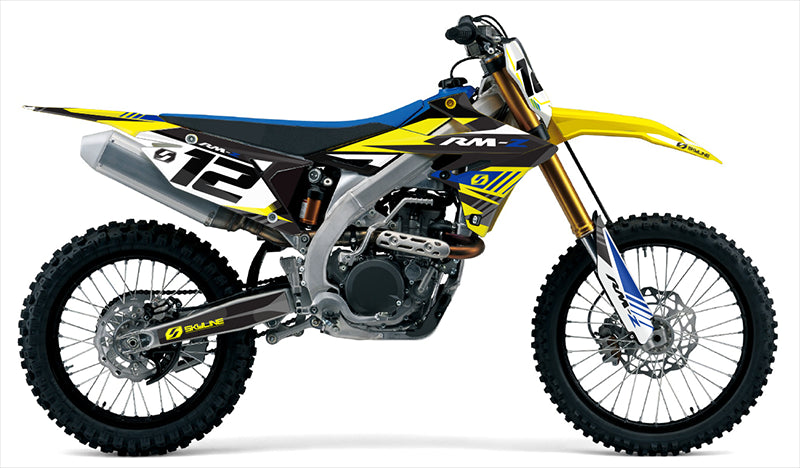 S-ONE: BLUE / YELLOW Graphics kit