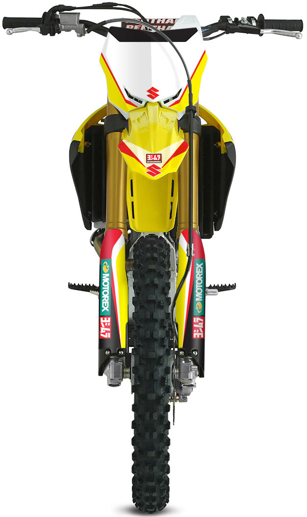 FACTORY: RED / YELLOW Graphics kit