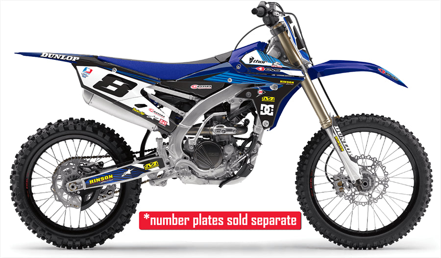 RIDGELINE: BLUE / BLUE Graphic Kits