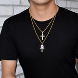 Ankh & Cross  Pendant Hot Bundle Set