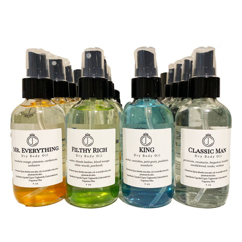 Men's Fragrances │ Dry Body Oil