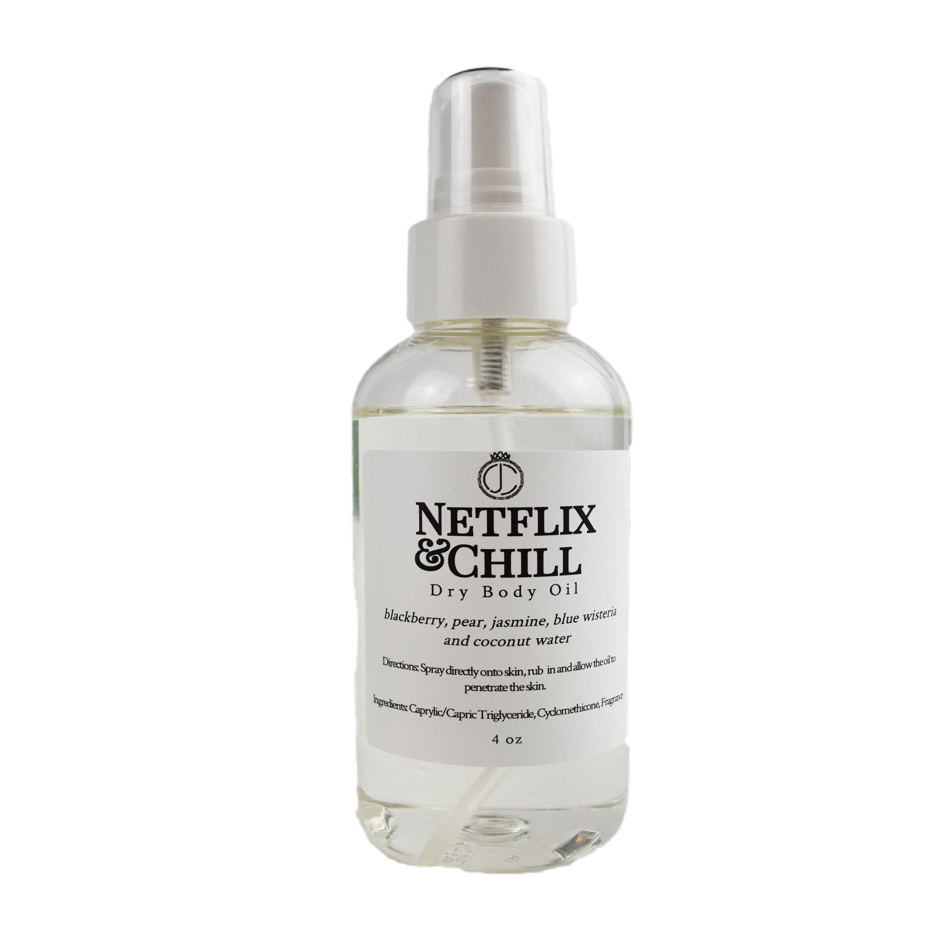 Netflix & Chill │ Limited Edition Dry Body Oil
