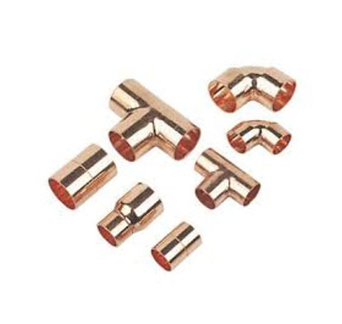End Feed Fittings - Copper