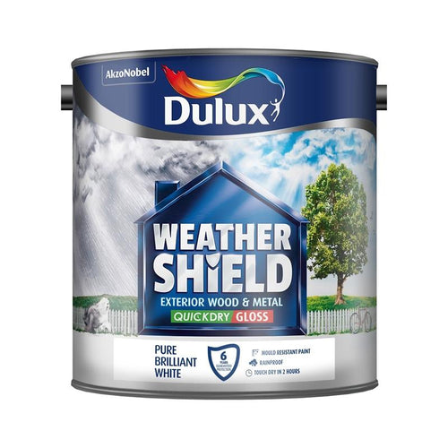 Dulux Retail Weathershield Exterior Quick Dry Gloss - 750ml
