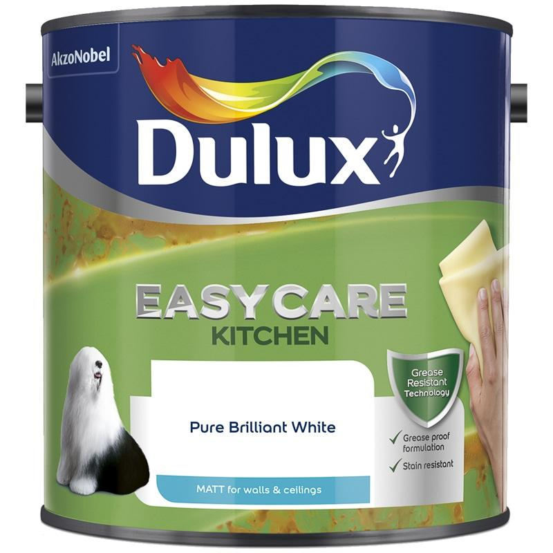 Dulux Retail Easycare Kitchen Matt - Pure Brilliant White