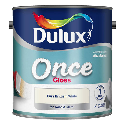 Dulux Retail Once Gloss - Pure Brilliant White