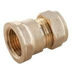 Brass Compression Female Iron Coupling - Trade Angel