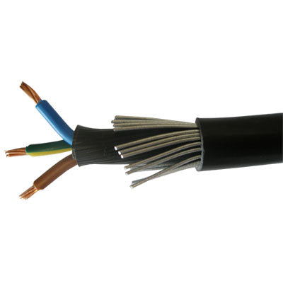 SWA 3 Core PVC Armoured Cable - Trade Angel