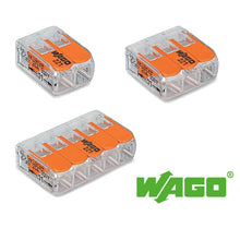 Load image into Gallery viewer, Wago 221 Compact Lever Splicing Connector 4mm - packs of 5 - Trade Angel