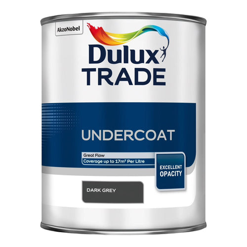 Dulux Trade Undercoat - Dark Grey 1L
