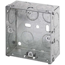 Load image into Gallery viewer, Appleby Galvanised Metal Single Back Boxes - Trade Angel