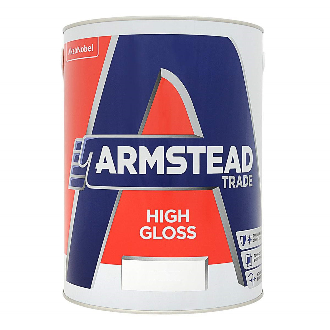 Armstead High Gloss - White - made by Dulux