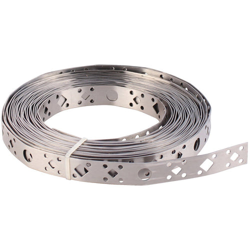 Builders Band - Trade Angel - Trade Angel - Galvanised band also known as galvanised band, galvanised strapping band, all purpose fixing band, galvanised fixing band