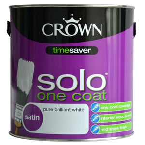 Crown Solo One Coat Pure Brilliant White