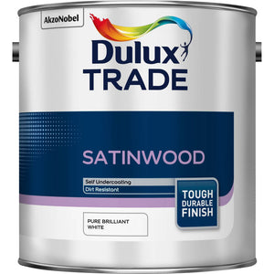 Dulux Trade Satinwood  - White - Trade Angel