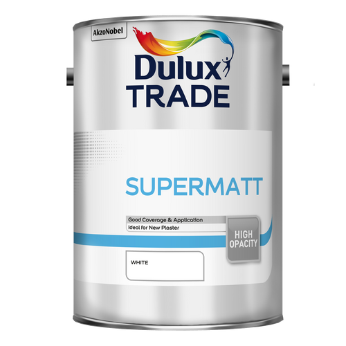 Dulux Trade Supermatt - White - Trade Angel