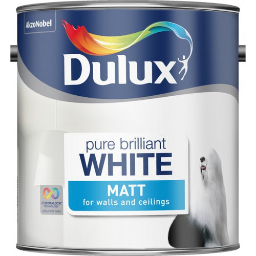 Dulux Matt  - White - Trade Angel