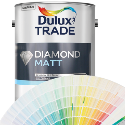 Dulux Trade Diamond Matt (Tinted Colours) 2.5l