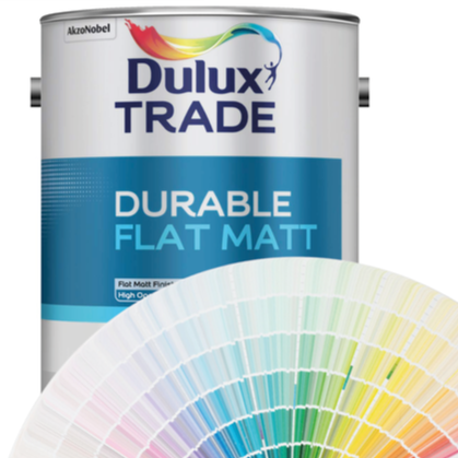 Dulux Trade Durable Flat Matt (Tinted Colours) 5l