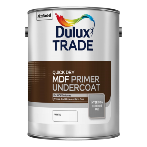 Dulux Trade Quick Drying MDF Primer Undercoat - 2.5l