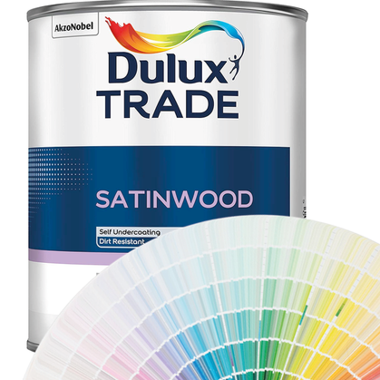 Dulux Trade Satinwood (Tinted Colours) 5l