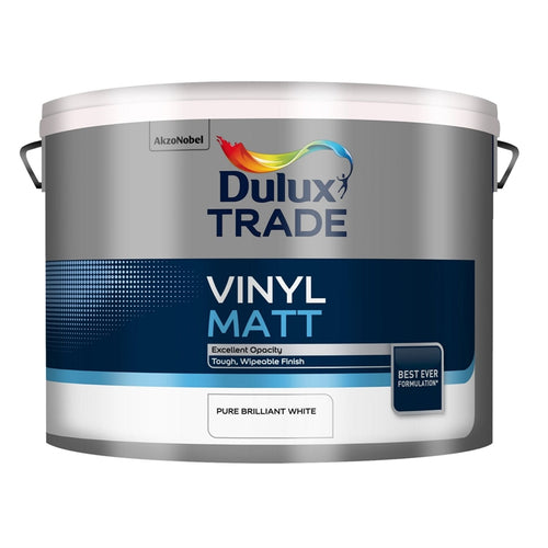 Dulux Trade Vinyl Matt - Pure Brilliant White