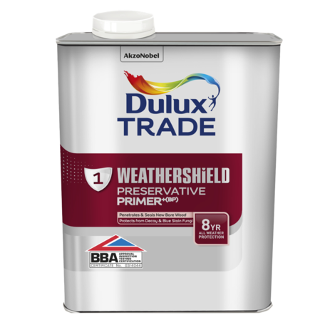 Dulux Trade Weathershield Preservative Primer Plus