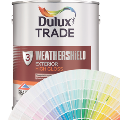Dulux Trade Weathershield Exterior High Gloss (Tinted Colours) 5l