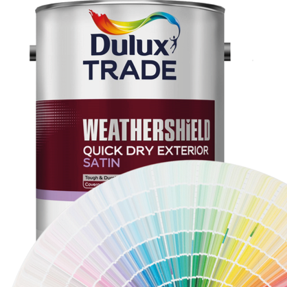 Dulux Trade Weathershield Satin (Tinted Colours) 2.5l