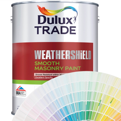 Dulux Trade Weathershield Smooth Masonry (Tinted Colours) 5l