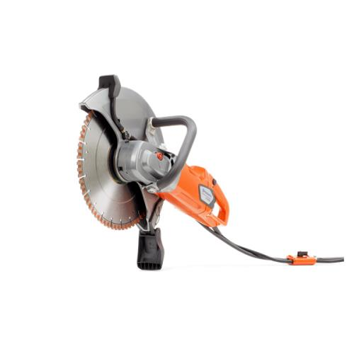 Husqvarna K4000 the ultimate electric wet cut saw  with the matching blades it is  the best electric wet cut saw on the market
