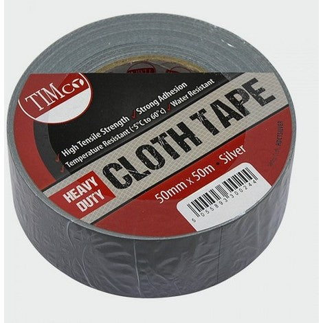 Heavy Duct Tape, Duty Cloth Tape - Silver - Trade Angel