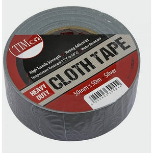 Heavy Duty Cloth Tape - Silver - Trade Angel