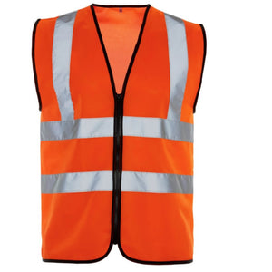 Hi Vis Waistcoat Orange - Trade Angel