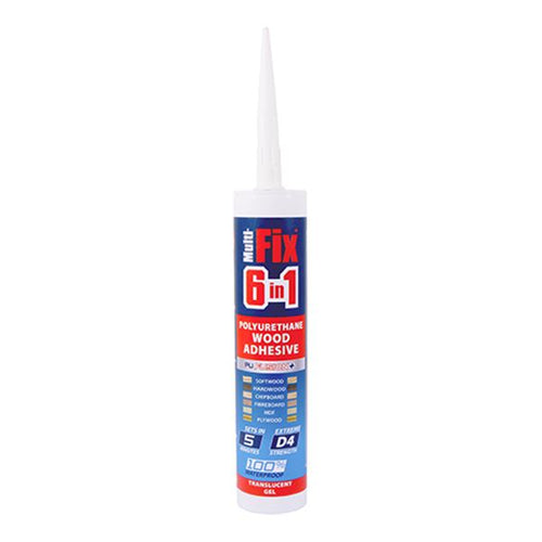 Multi-Fix 6 in 1 PU Wood Adhesive - 5 Minutes