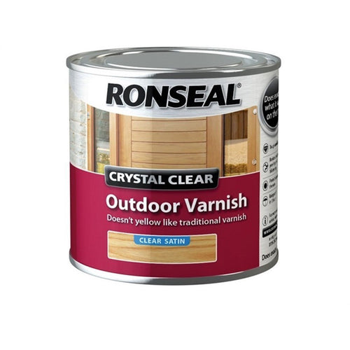 Ronseal - Outdoor Varnish Clear Satin