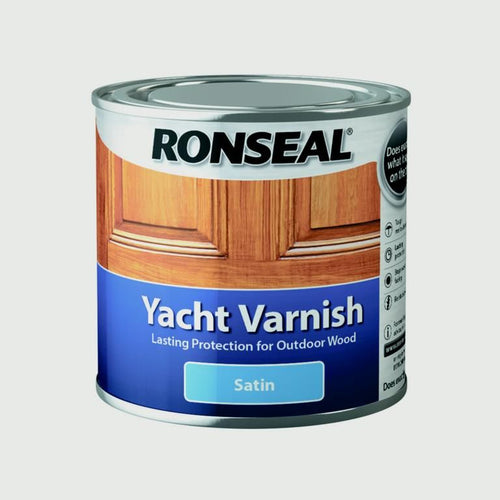 Ronseal - Yacht Varnish - Satin - 500ml